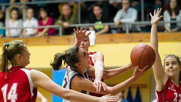 Joanna Markiewicz (KKS Olsztyn) w akcji