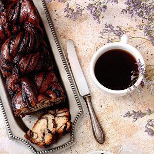 Ciasto drożdżowe z resztką masy makowej lub wigilijnej kutii