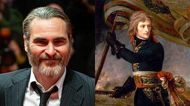 Joaquin Phoenix/Napoleon Bonaparte na obrazie Antoine-Jean Gros'a