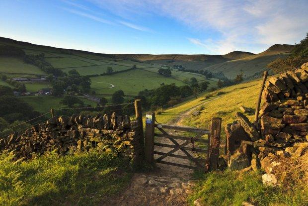 W okolicach Peak District, Wielka Brytania