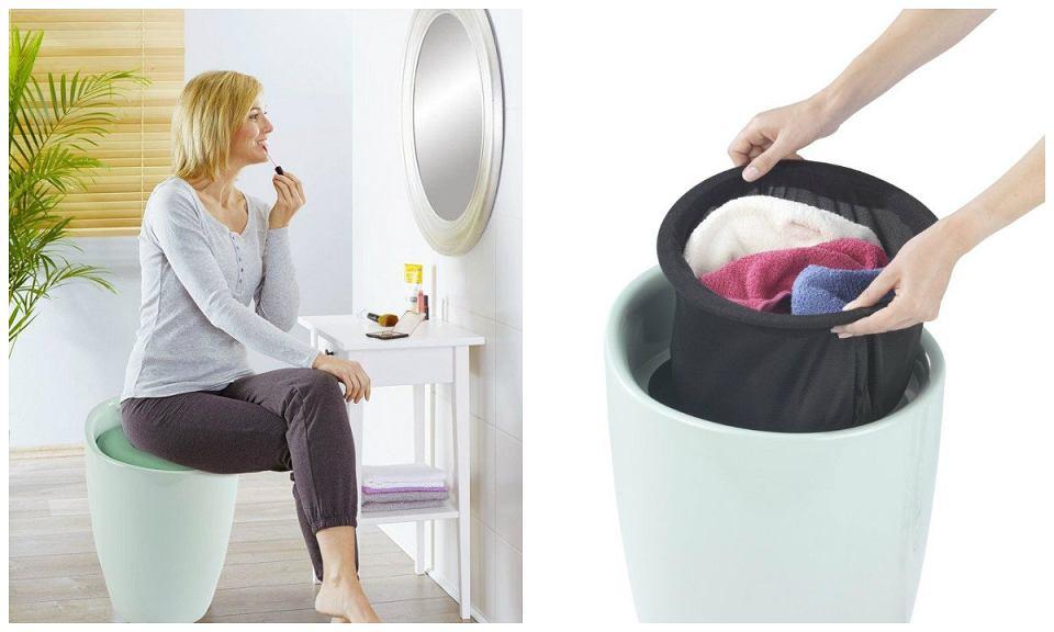 Pufa kosz na pranie