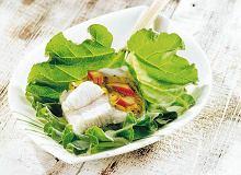 Sandacz na zimno z sosem agrestowym - ugotuj