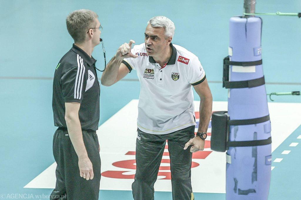 Trener Lotosu Trefla Andrea Anastasi