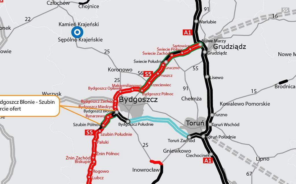 S5 Bydgoszcz Błonie - Szubin
