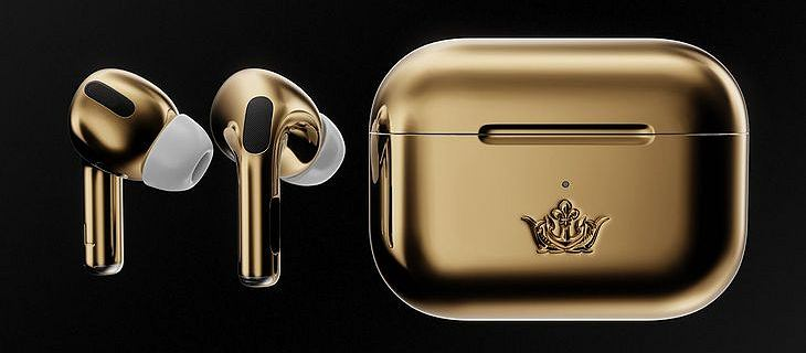 Rosyjska firma stworzyła złote Apple AirPods Pro. Koszt? 67 tys. dolarów