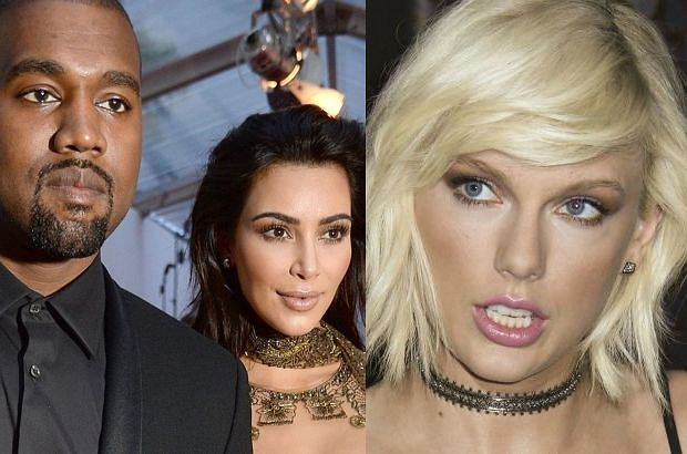 Kanye, Kim Kardashian i Taylor Swift