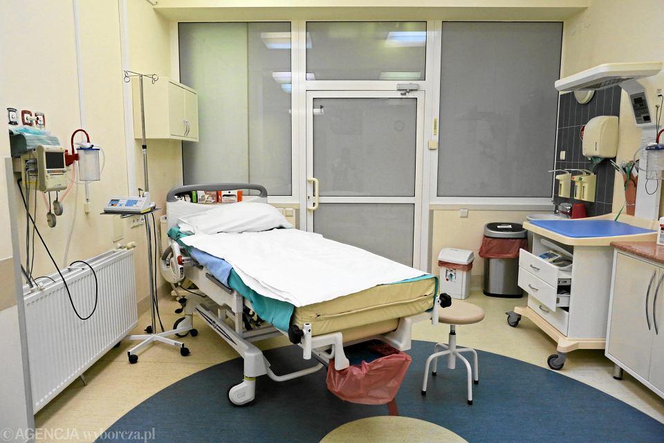 Sala porodowa w szpitalu Bielańskim