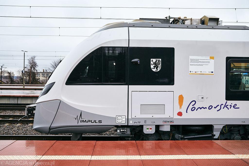 Pociąg POLREGIO (zdjęcie ilustracyjne)