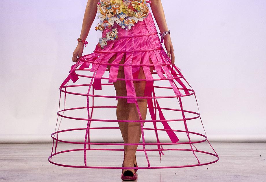 Pokaz mody ekologicznej NO WASTE w Studio Zabłocie w ramach CFW