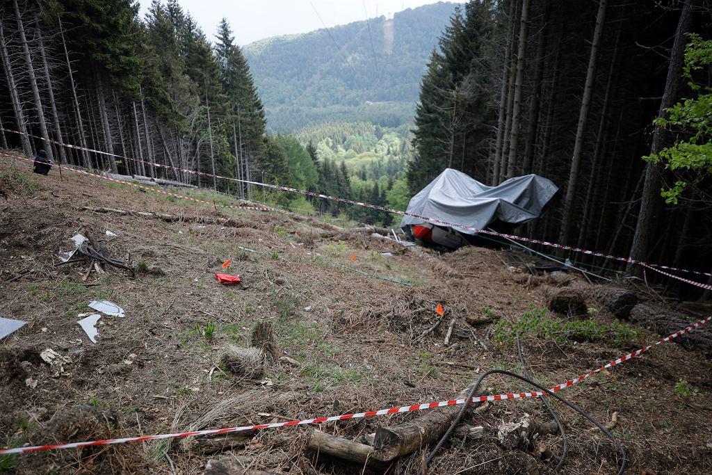 Katastrofie kolejki górskiej we włoskich Alpach