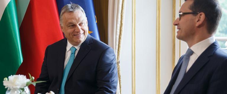 """Koniec spotkania Orban-Morawiecki. """"Nasze stanowisko jest jasne"""""""