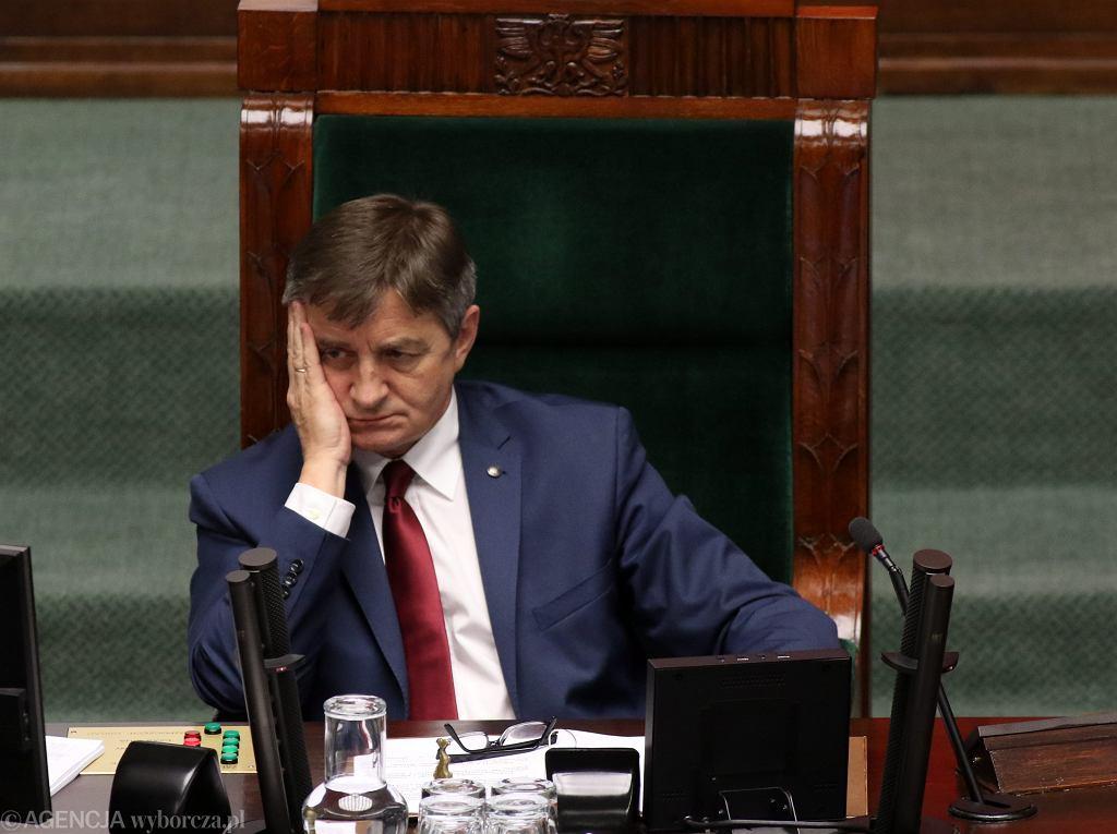 Marek Kuchciński, Sejm, Warszawa, 18 maja 2016
