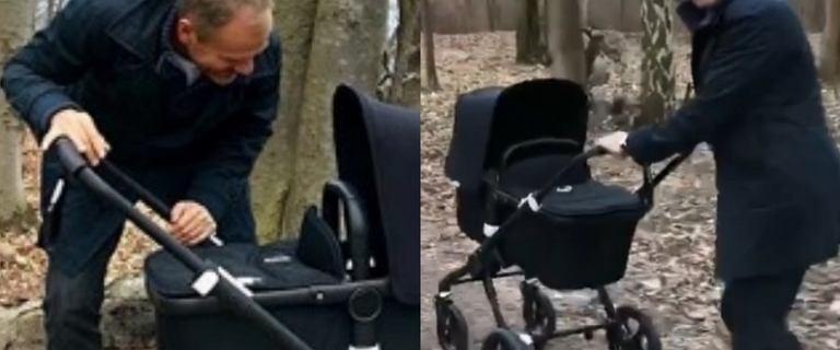 Donald Tusk zabrał wnuczkę na spacer. Pochwalił się zdjęciami i nagraniem