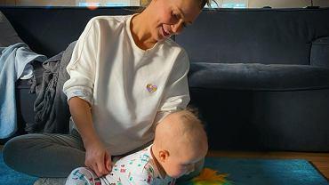 Małgorzata Rozenek chętnie publikuje na Instagramie zdjęcia małego Henia.