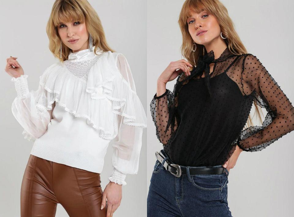 Eleganckie bluzki Renee