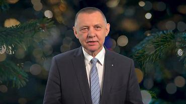 Prezes NIK Marian Banaś złożył życzenia na Boże Narodzenie
