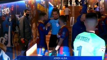 Alba przeprasza sędzeigo