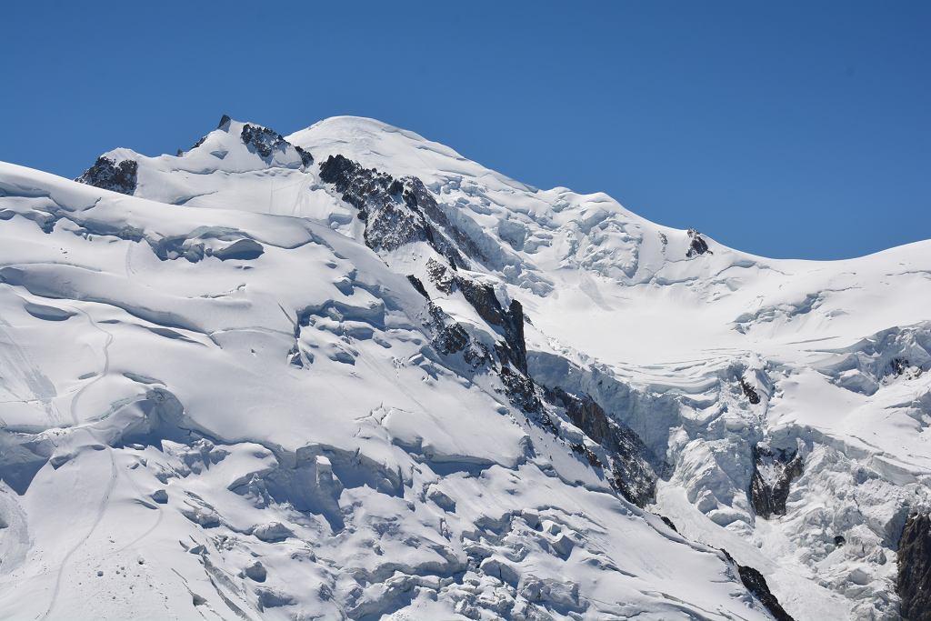 Mont Blanc. Zdjęcie ilustracyjne