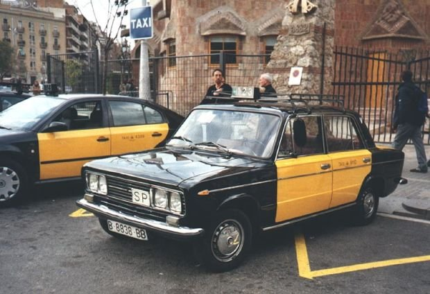 Seat 1430 Taxi - Barcelona