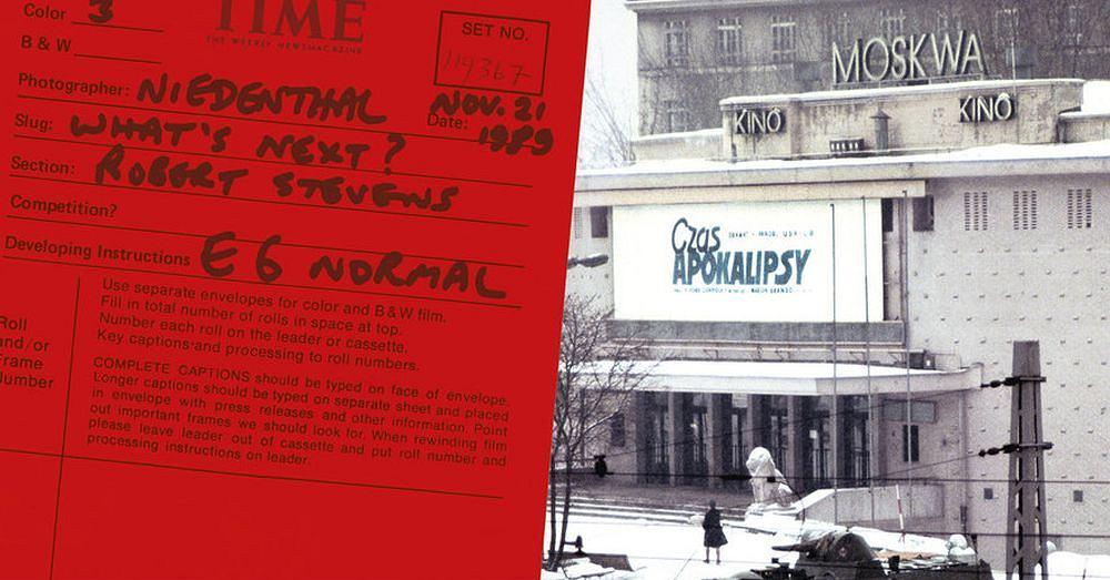 Chris Niedenthal 'Zawód: Fotograf' - fragment okładki ze zdjęciem 'Czas apokalipsy'
