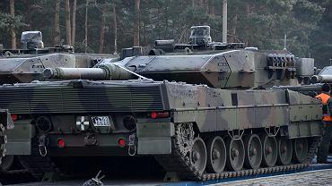 Ostatni transport Leopardów do Żagania