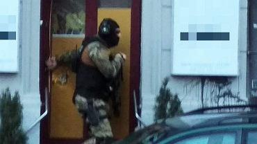 Akcja policji w salonie SPA w Poznaniu