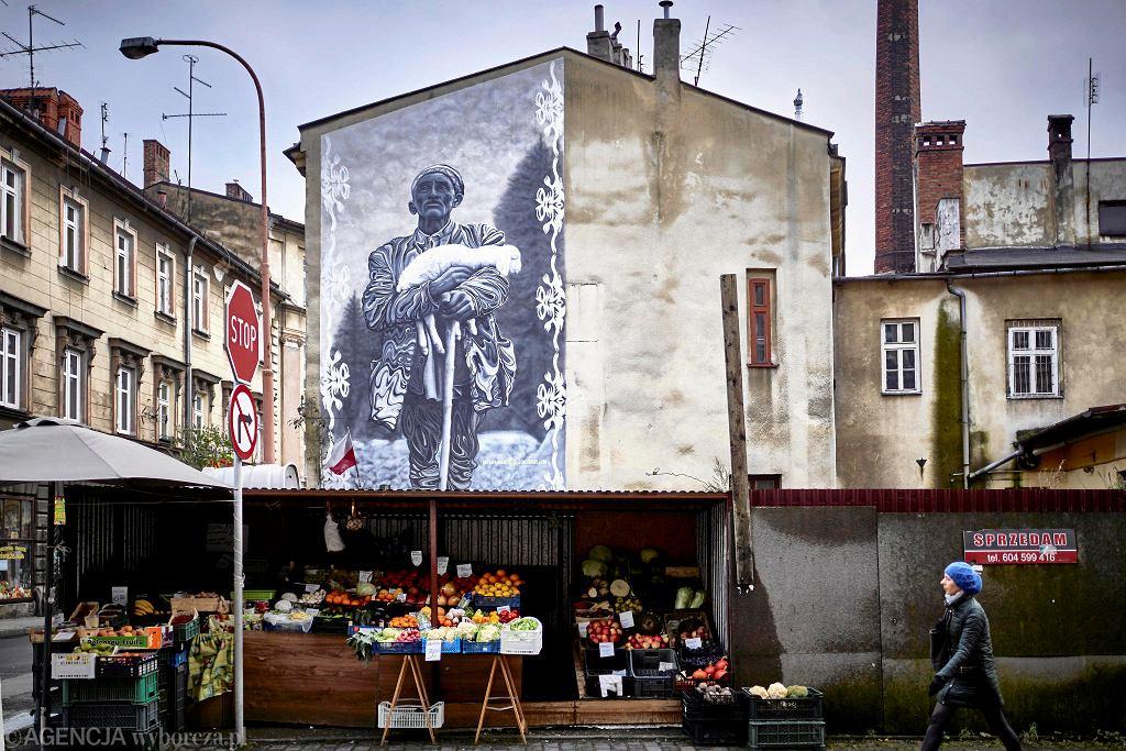 Mural w Bielsku-Białej