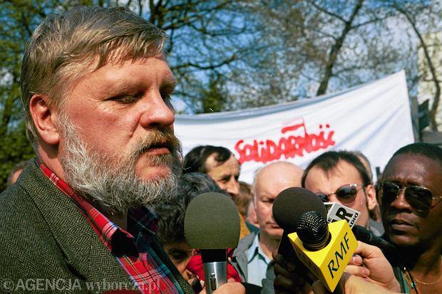 Maciej Jankowski, działacz NSZZ Solidarność