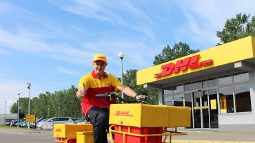 Rower DHL Parcel