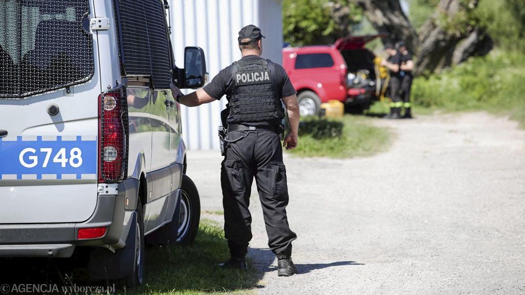 Policyjne poszukiwania
