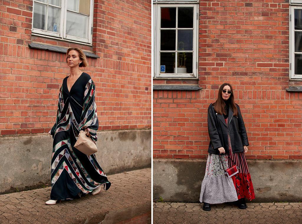 Sukienki w modne wzory
