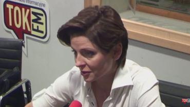 Joanna Mucha w studiu radia TOK FM