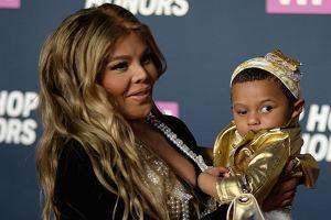 Lil Kim z córką Royal Reign