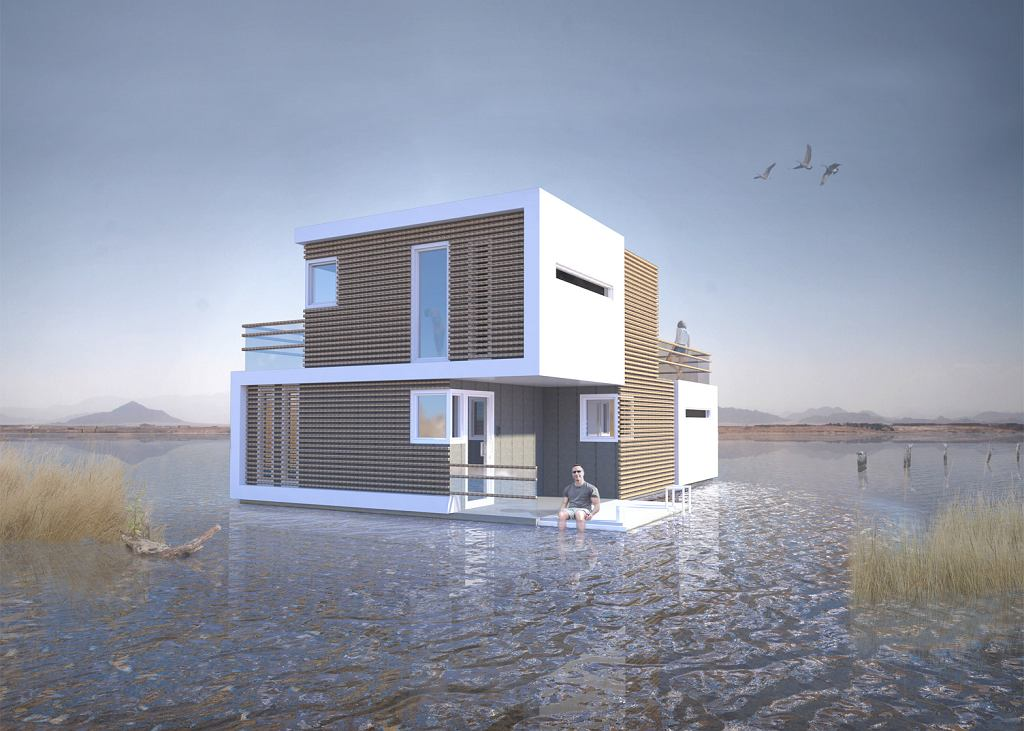 Prenuptial Housing - koncept domu studia OMA
