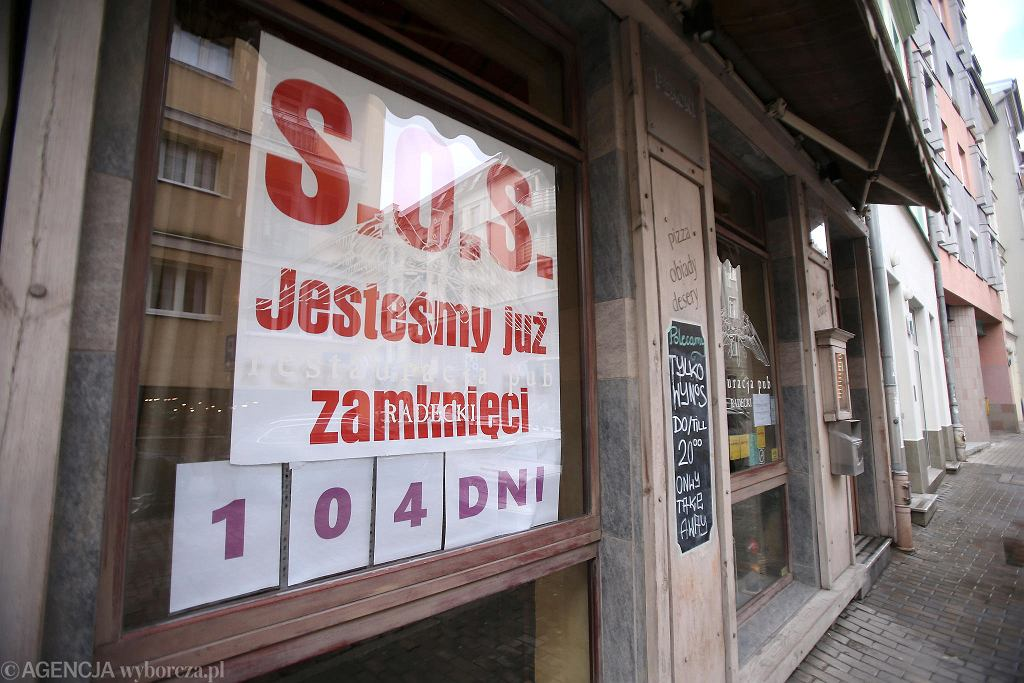 Restauracja 'Radecki' i licznik zamkniętej gastronomii