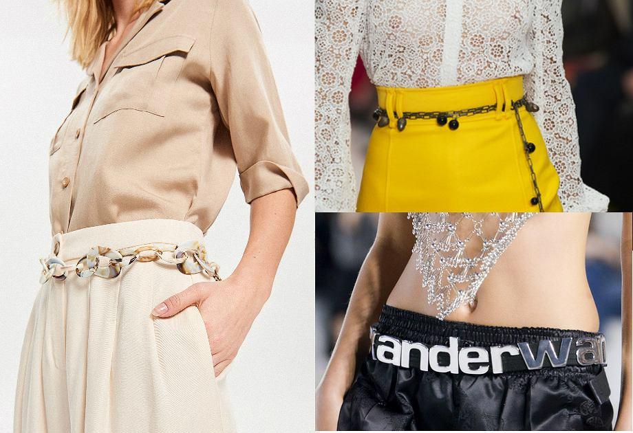 modne paski 2019 (Reserved, Carolina Herrera, Alexander Wang)