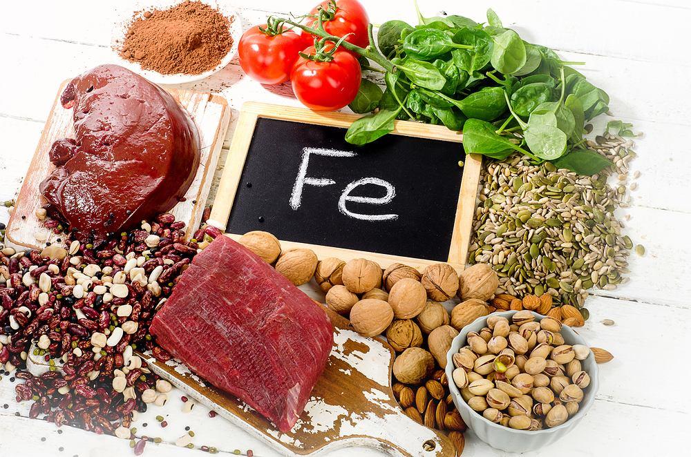 Najlepiej przyswajane jest żelazo pochodzące z mięs oraz ryb.