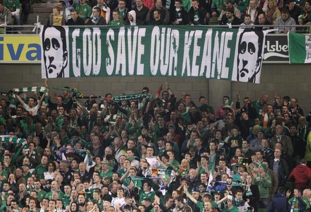 Flaga irlandzkich kibiców