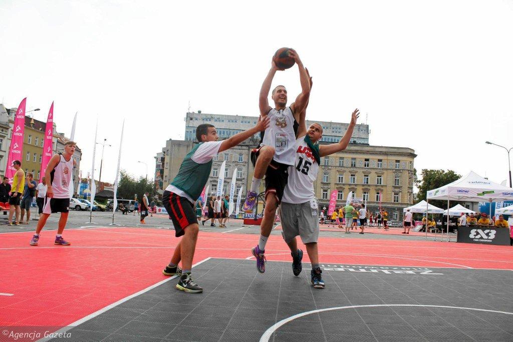 Streetball to bardzo efektowna odmiana koszykówki