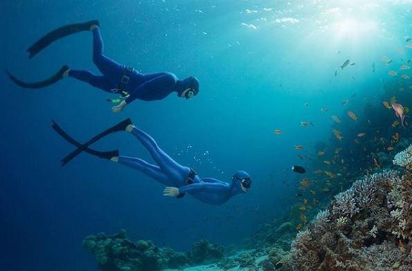 Freediving wymaga odpowiedniego przygotowania