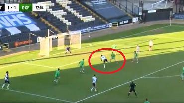 Kuriozalna bramka w meczu Notts County FC