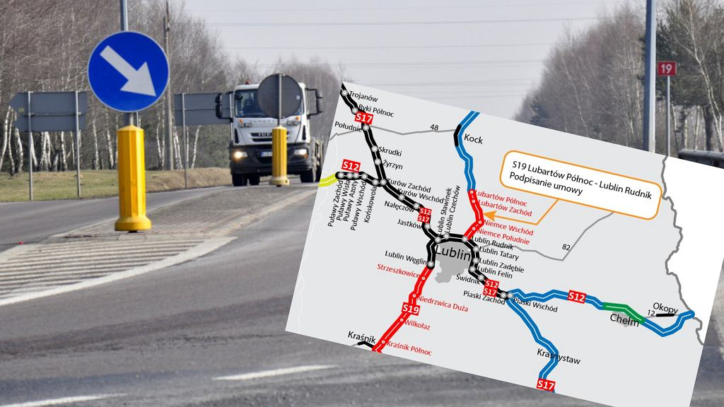 Trasa S19, Lublin - Lubartów