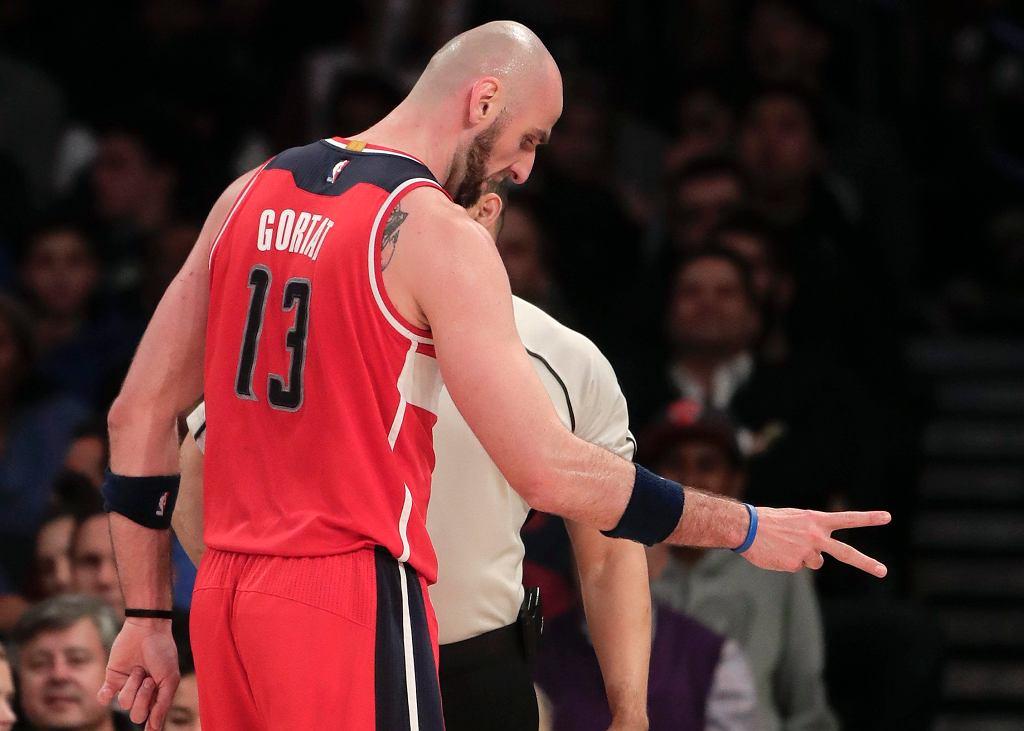 Mecz pomiędzy Washington Wizards a New York Knicks