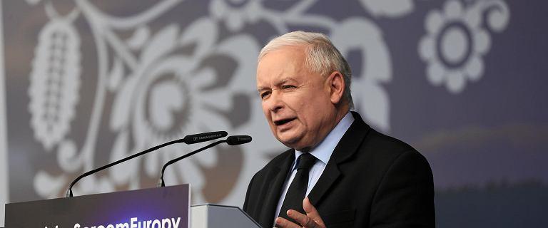 Kaczyński komentuje informacje