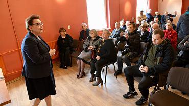 Wybory do europarlamentu 2019. Spotkanie z Anną Zalewską w Bierutowie