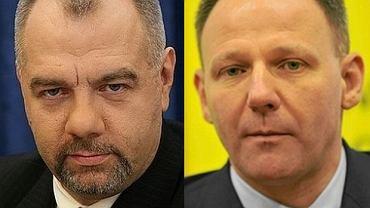 Jacek Sasin i Jacek Protasiewicz