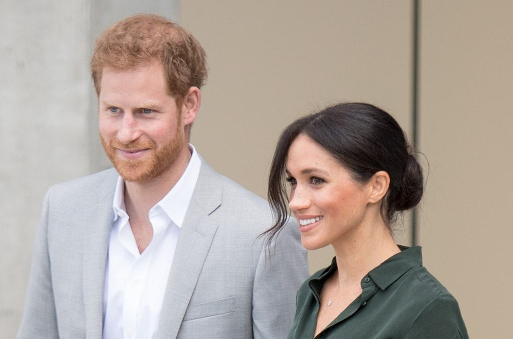 Księżna Meghan Markle i książę Harry