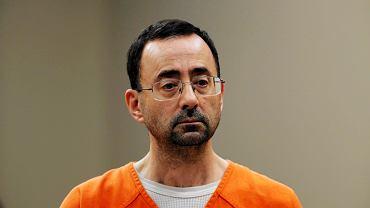 Doktor Larry Nassar przed sądem w Lansing