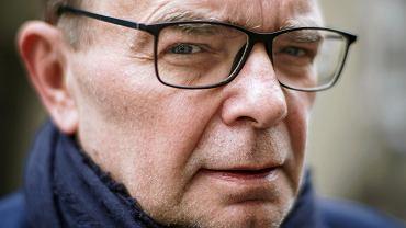 Piotr Gajdziński , były rzecznik banku BZ WBK . Autor książki 'Delfin. Mateusz Morawiecki'