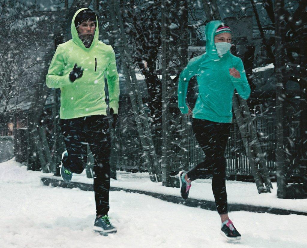 bluza nike bieganie zima
